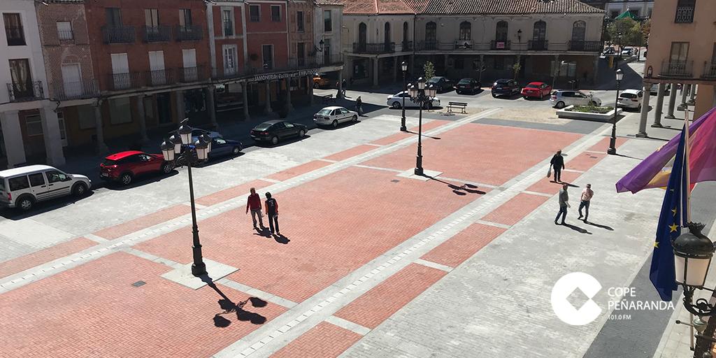 Plaza de la Constitución de Peñaranda de Bracamonte.