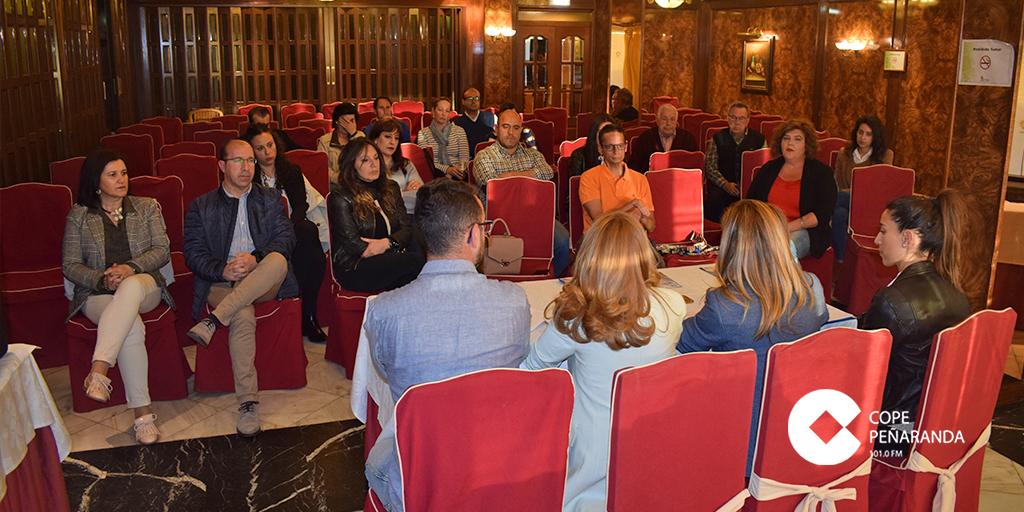 El Partido Popular convocó una reunión con los empresarios de la ciudad.
