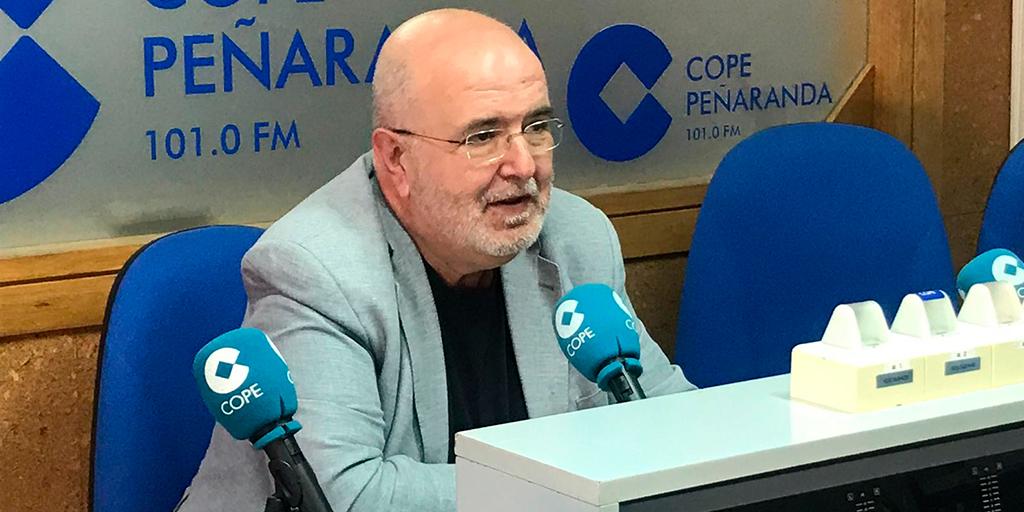 El director de la Escuela municipal de Música, Miguel Ángel Nuñez.