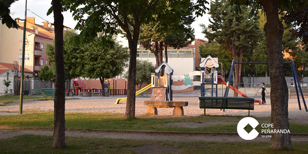 El Ayuntamiento prevé mejorar el parque de la Huerta.