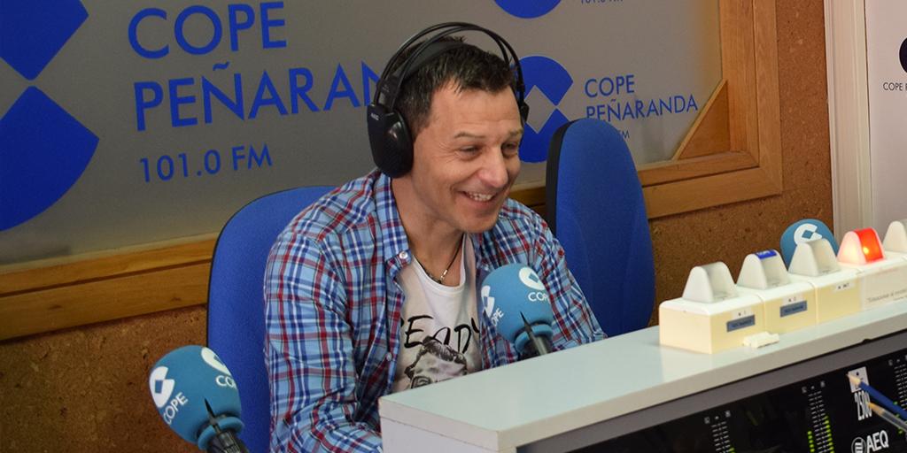 José Manuel Bárez, Peque, en COPE Peñaranda.