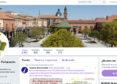 Cabecera de la cuenta de Twitter del Ayuntamiento de Peñaranda.