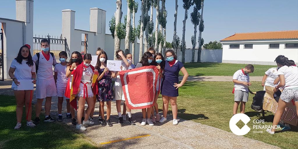 Los campamentos del CID organizan sus particulares encierros de san Fermín