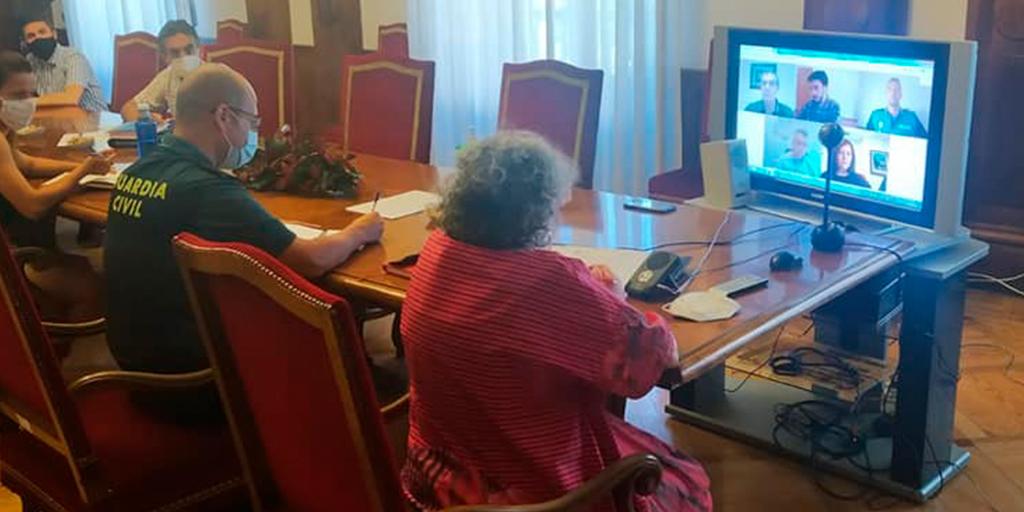 La Junta local de Seguridad coordina las medidas de vigilancia frente a la pandemia