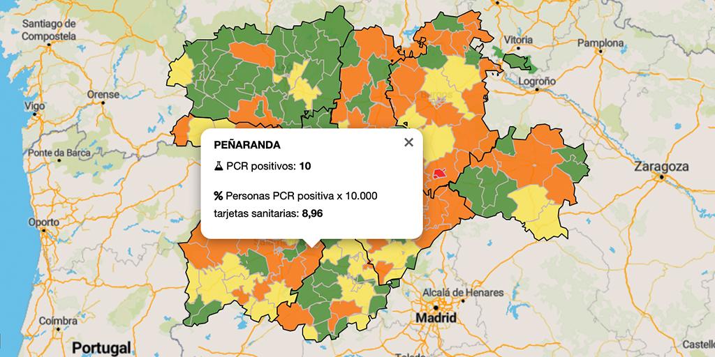 Asciende a diez el número de positivos por Covid en la zona de salud de Peñaranda