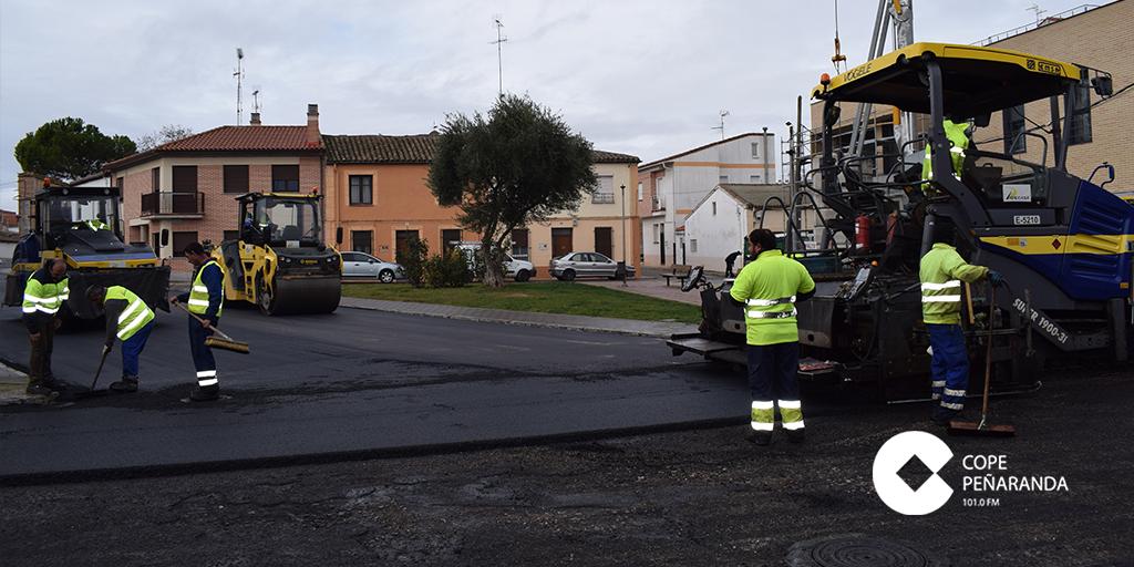 El Ayuntamiento saca a licitación la pavimentación de una decena de calles