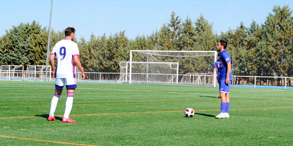 El Peñaranda pierde contra el División de honor del Real Valladolid por cero goles a dos