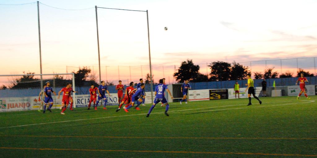 Merecido empate a uno entre el CD Peñaranda y el División de Honor del Santa Marta