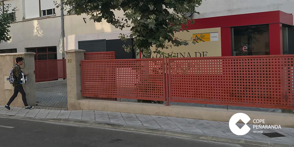 El paro bajo en la oficina del Ecyl de Peñaranda