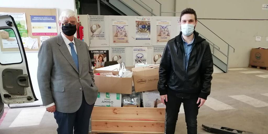Macotera entrega 400 kilos de alimentos y productos de higiene al Banco de Alimentos