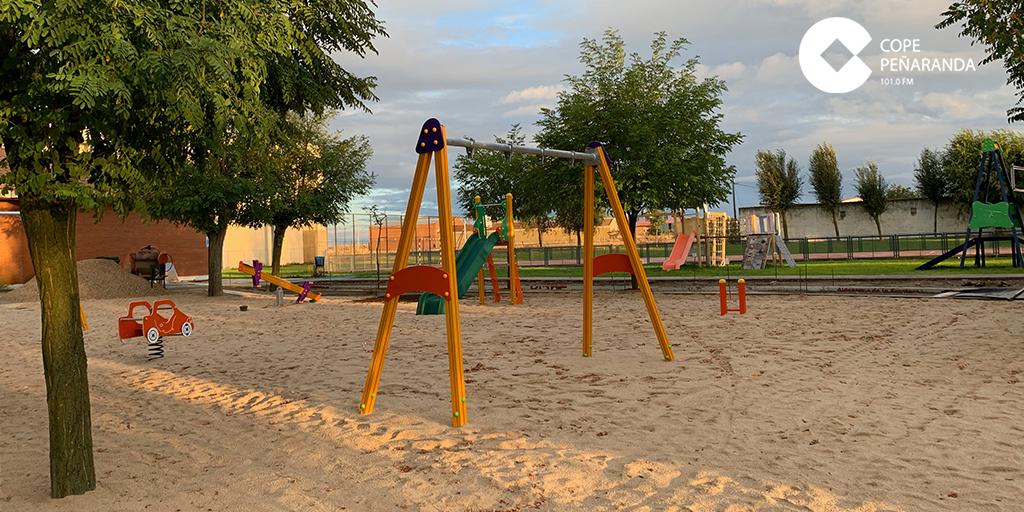 Aldeaseca invierte unos 20.000 euros en la reforma del parque municipal