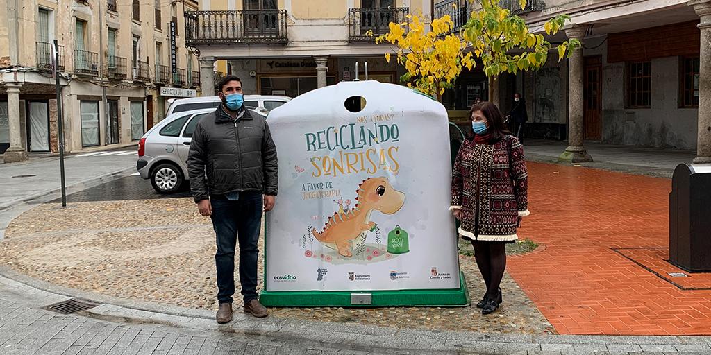 «Reciclando sonrisas» llega a Peñaranda para colaborar con la Unidad de Pediatría Oncológica