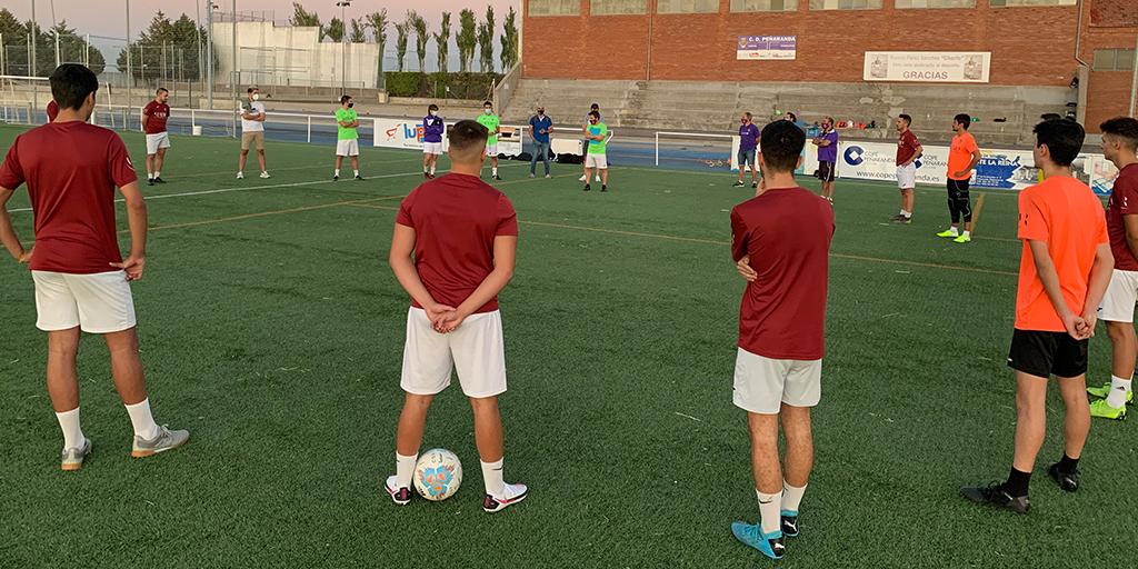 Cuatro jugadores del CD Peñaranda dan positivo por covid antes del regreso a la competición