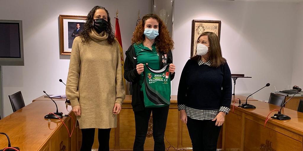 El Ayuntamiento renueva el patrocinio con la atleta Lorena Martín