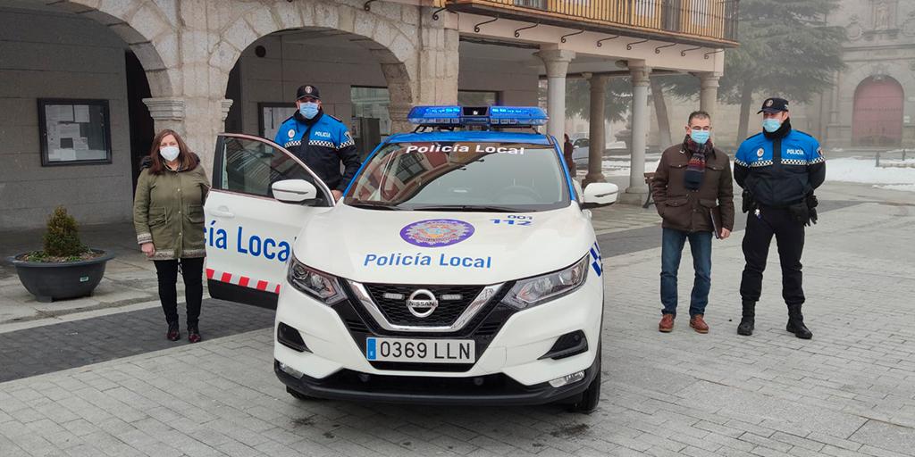 El Ayuntamiento destina 37.000 euros a un nuevo vehículo para la Policía Local