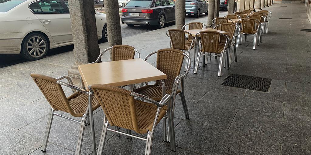 El Ayuntamiento estudia ampliar otros seis meses la exención de la tasa de terrazas