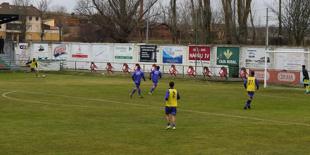 Dolorosa derrota del CD Peñaranda en Astorga por cuatro goles a uno