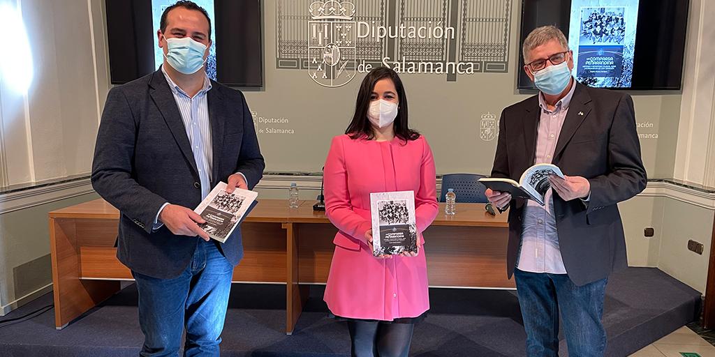 La Diputación presenta el libro de Virginia Sánchez sobre la Comparsa Peñarandina