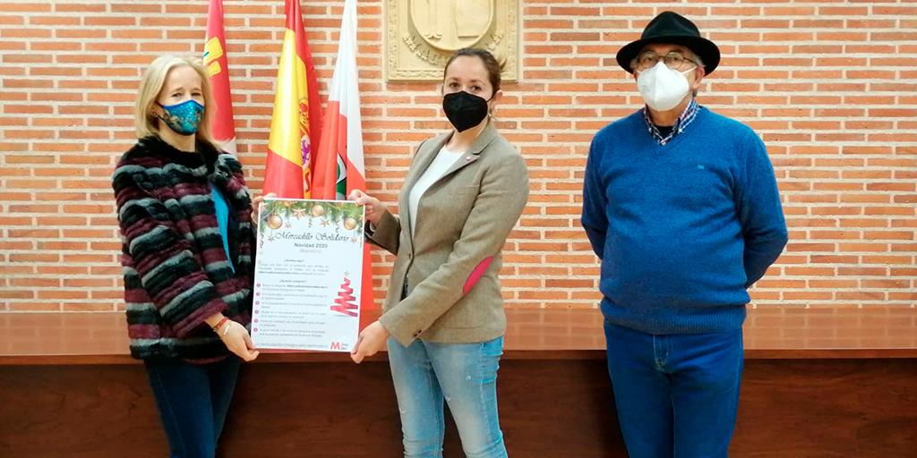 Macotera dona a Asdem 570 euros recaudados con el mercadillo solidario digital de Navidad