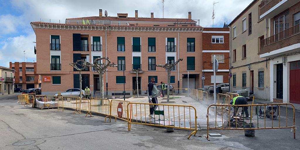 El Ayuntamiento renueva la plaza de Santa Apolonia