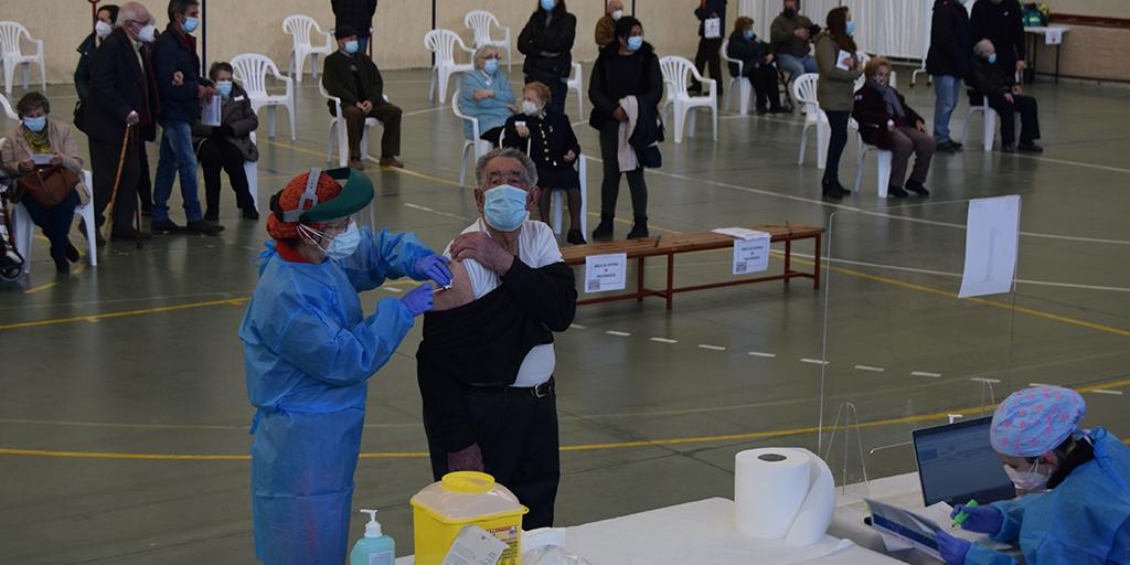 Comienza la vacunación masiva en la Zona Básica de Salud de Peñaranda