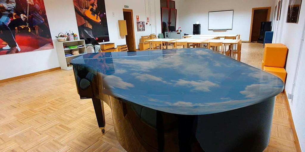 La Escuela municipal de música comparte los avances de sus alumnos con «Música en el aula»