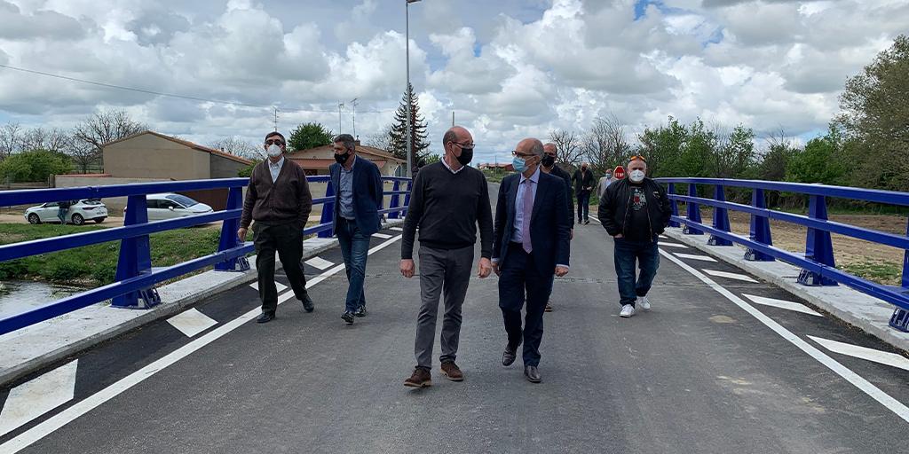 La Diputación invierte más de 200.000 euros en el puente de Bóveda