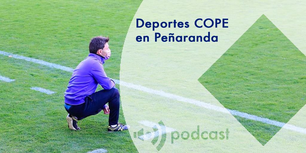 Deportes COPE en Peñaranda José Manuel Bárez Peque entrenador CD Peñaranda