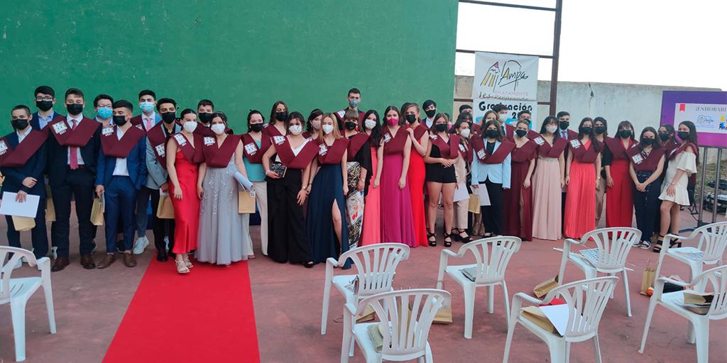 43 alumnos del IES Peñaranda se gradúan en un acto atípico