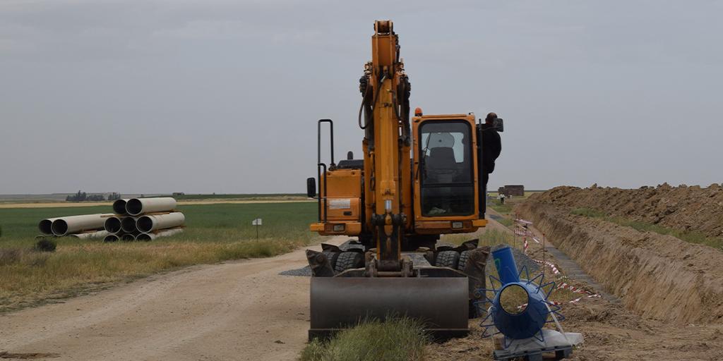Las nuevas parcelas concentradas del regadío de la Armuña duplicarán su superficie