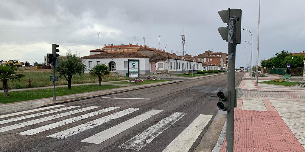 Peñaranda en Común reprende el estado de los semáforos