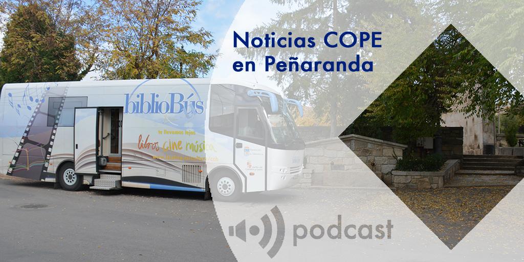 Noticias COPE en Peñaranda bibliobus