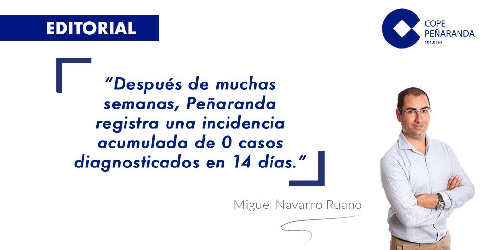 «Cero incidencia» por Miguel Navarro