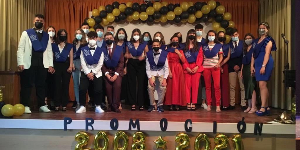 Graduación de los alumnos de 4º de la ESO