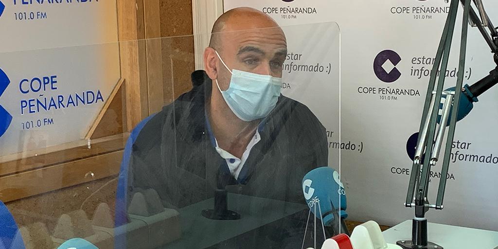 Carlos Leonardo, entrenador CD Peñaranda