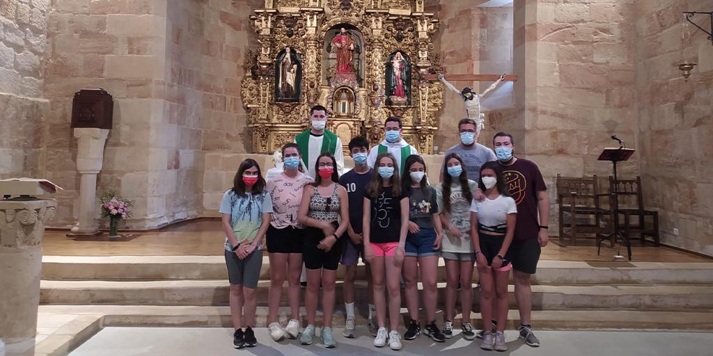 Los jóvenes se reúnen en una convencida arciprestal en Huerta