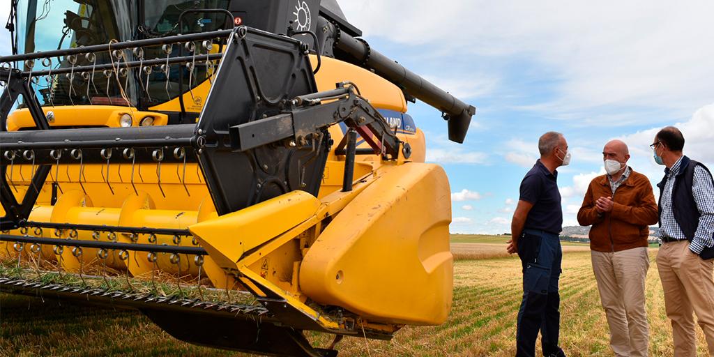 La cosecha de cereal en Castilla y León se prevé en 7 millones de toneladas