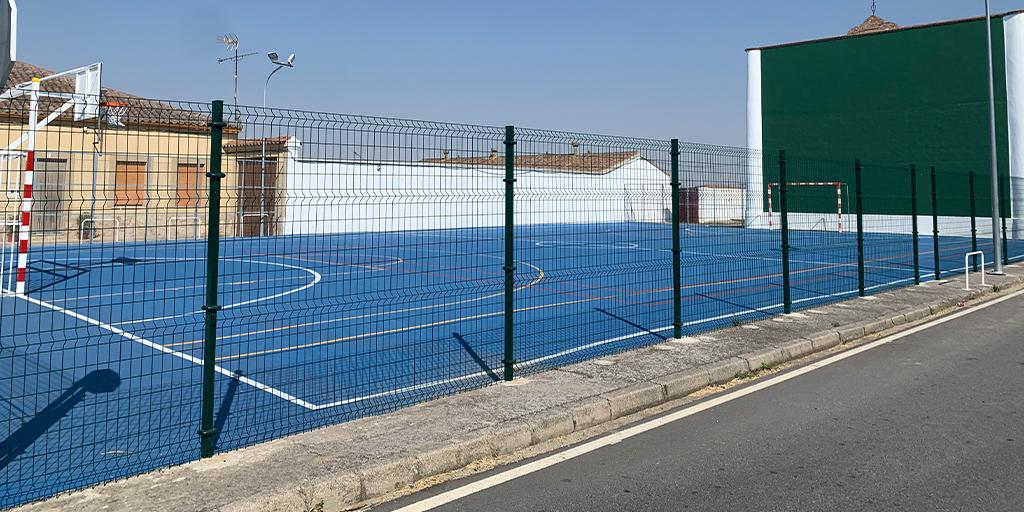El Ayuntamiento de Villar de Gallimazo ha mejorado las instalaciones del frontón