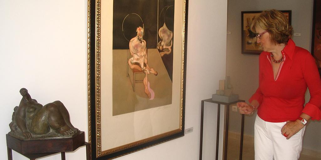 Los artistas de Alaraz exponen sus obras en la Casa Museo Marina Gómez