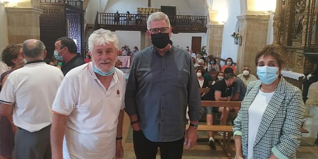 La presentación tuvo lugar en la iglesia parroquial
