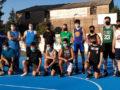 Los participantes del II Torneo de triples de Peñaranda