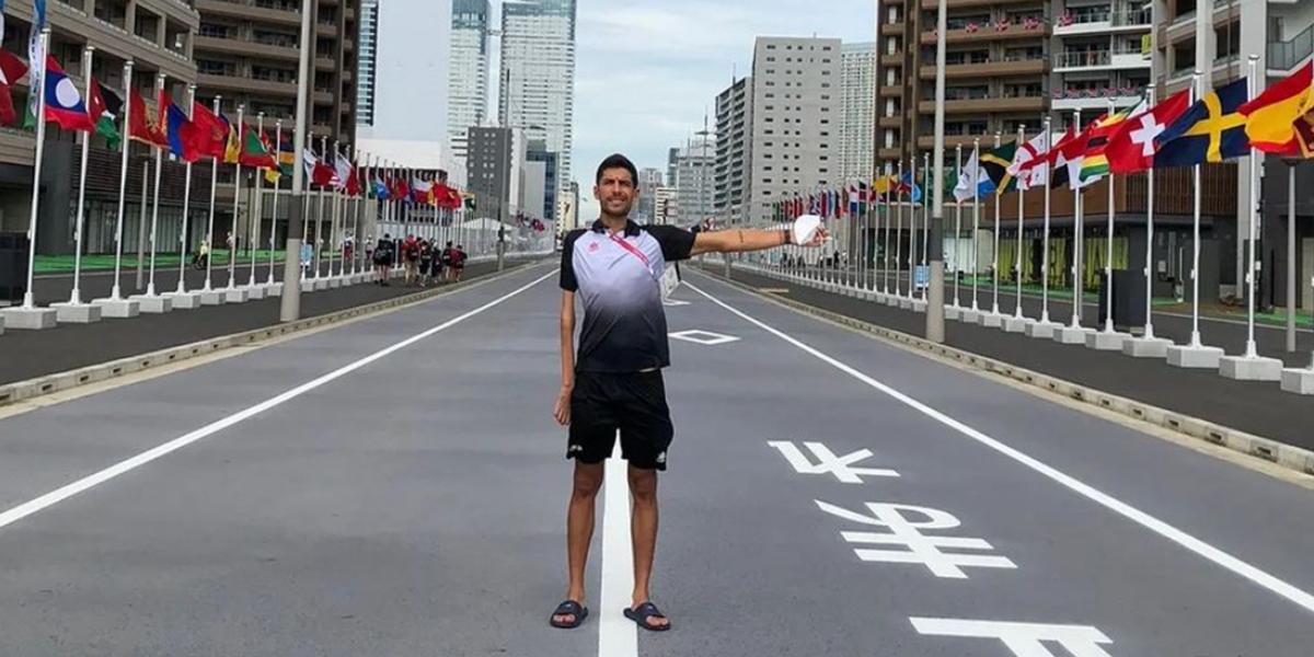 Álex Sánchez Palomero participa en los juegos paralímpicos de Tokio