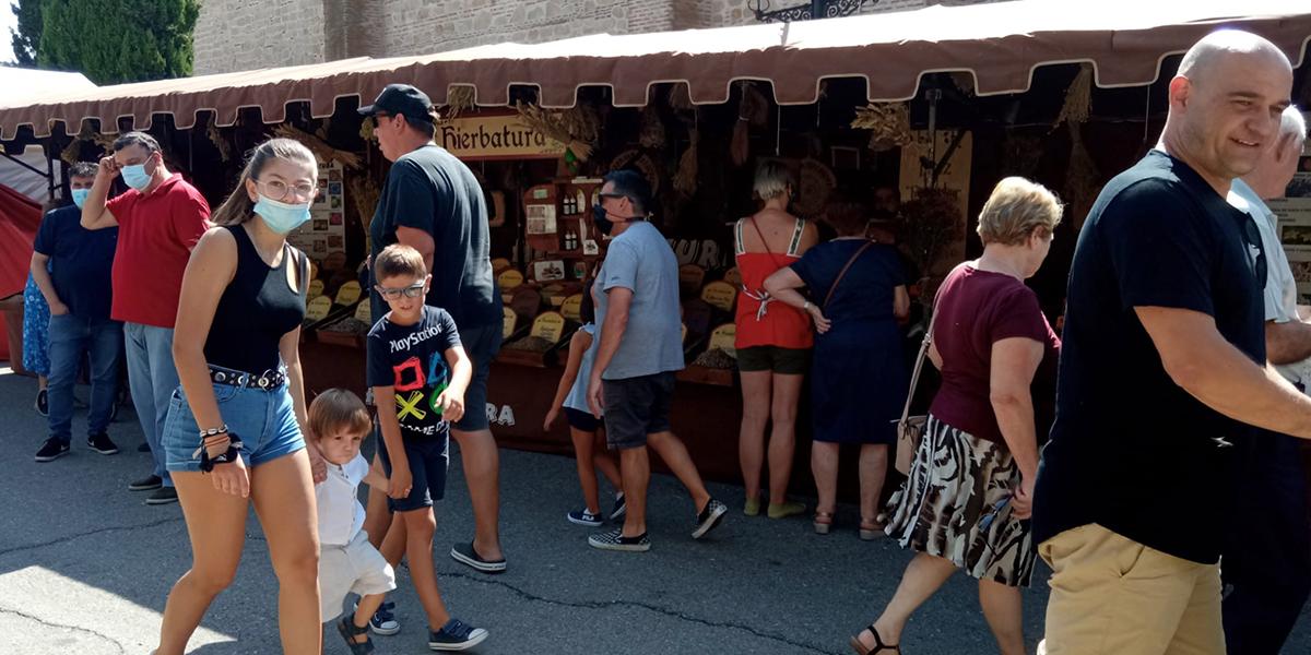 Cientos de personas disfrutaron de la VII Feria Castellana de Cantalapiedra