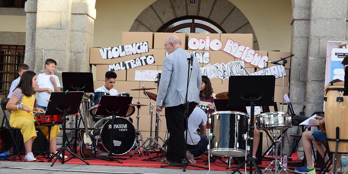 Una de las actuaciones de la Escuela Municipal de Música