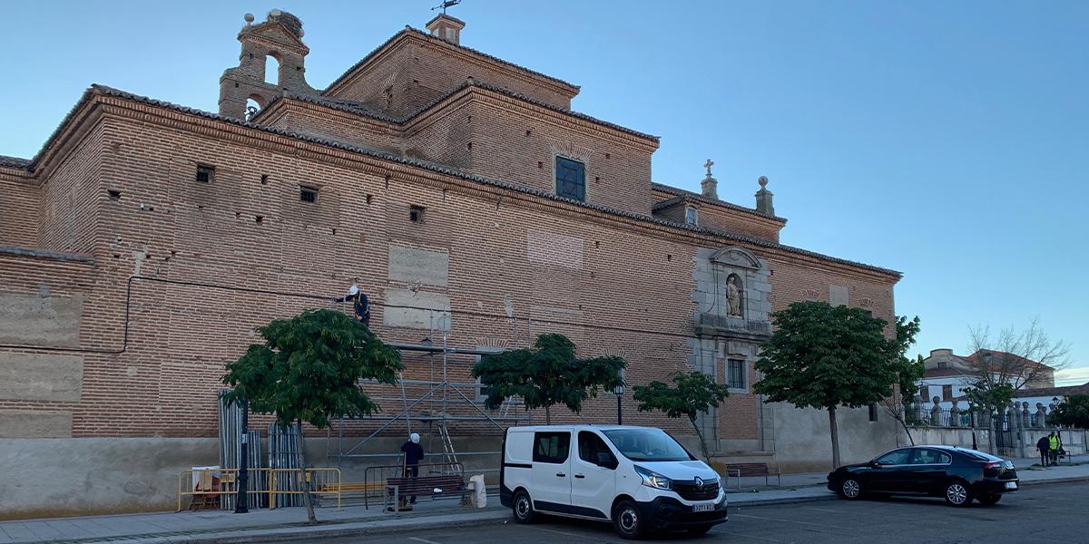 Inicio de las obras de restauración del convento de las Carmelitas de Peñaranda