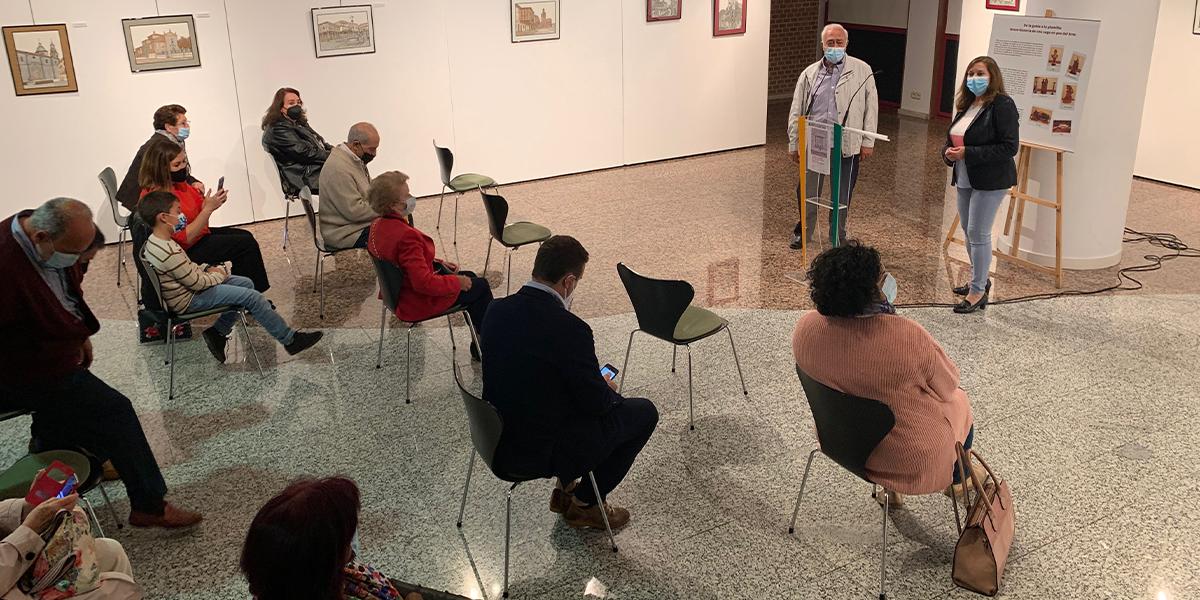 Inauguración de la exposición de Pablo Fernández
