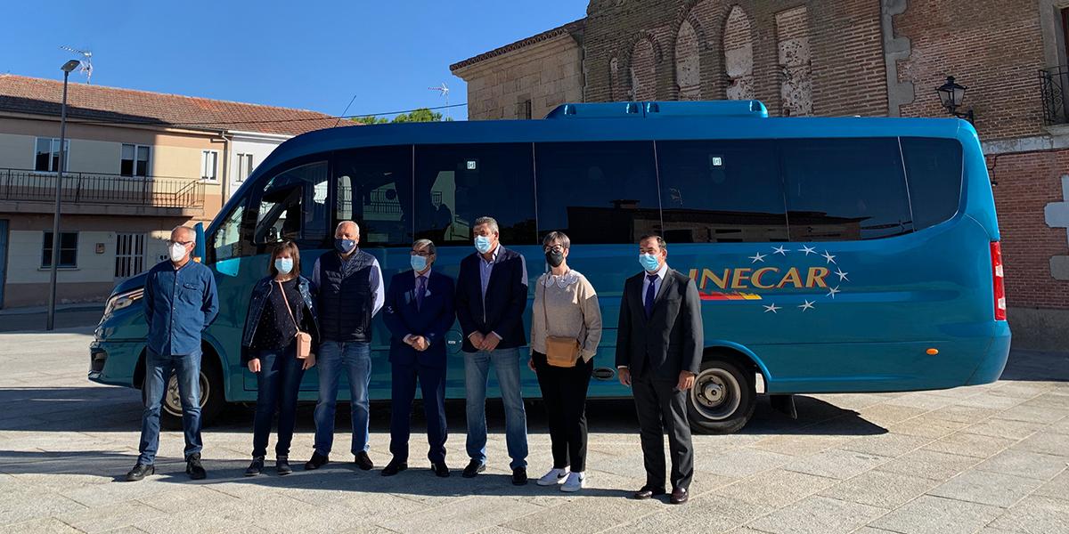 La Junta lleva a la zona de Villoria el bono rural de transporte gratuito