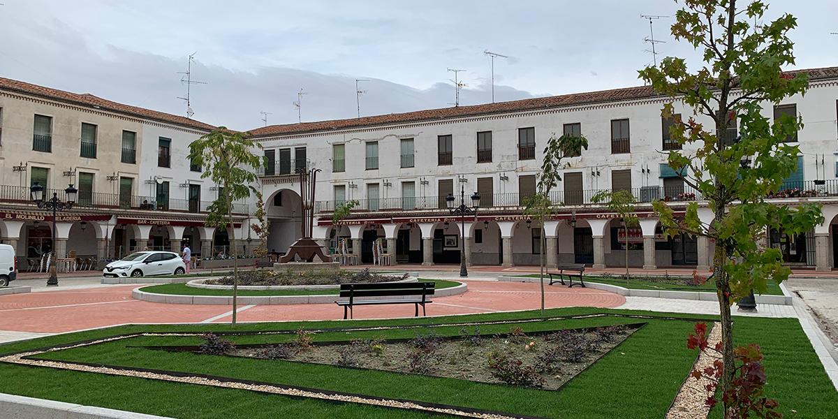 La Plaza Nueva tras las obra de mejora